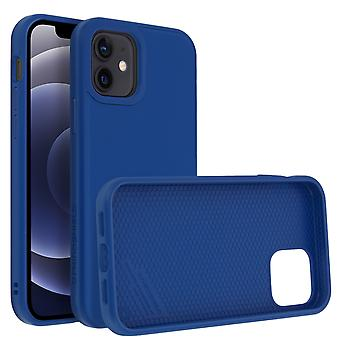 Back Cover For Apple iPhone 12 Mini Flexible Shockproof Rhinoshield blue