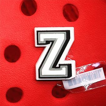 Original Shoe Buckle Accessories Diy Combination English Alphabet