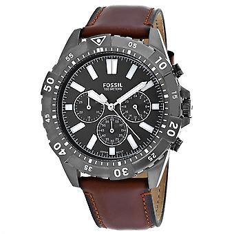 Fossil Men's Garrett Black Dial Watch - FS5770