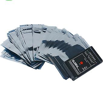15 * 20cm Esd anti statische pakket zak zip lock / waterdichte self seal antistatisch