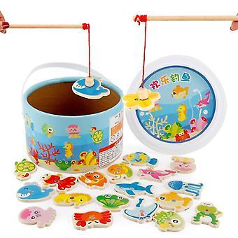 Quebra-cabeça de peixe Kids Brinquedo