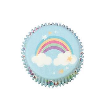 Licorne Foil Lined Baking Cases - 24 pièces - Single