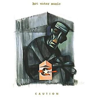 Hot Water Music - Caution (Trans Clr W Red) [Vinyl] USA import