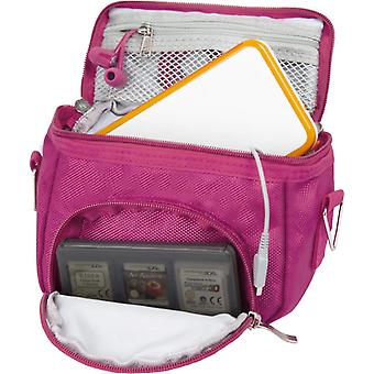 Orzly high quality multi shoulder bag for nintendo ds (suitable for versions of ds with a folding sc