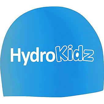 HydroKidz Children's Silicone Swim Caps -Light Blue