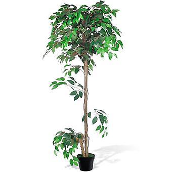 Artificial Plant Ficus Tree With Pot 160 Cm