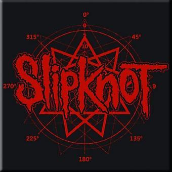 Slipknot Fridge Magnet band Logo paul gray new Official 76mm x 76mm