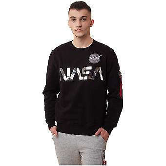 Alpha Industries Nasa Reflective 178309373 sweatshirts universels pour hommes