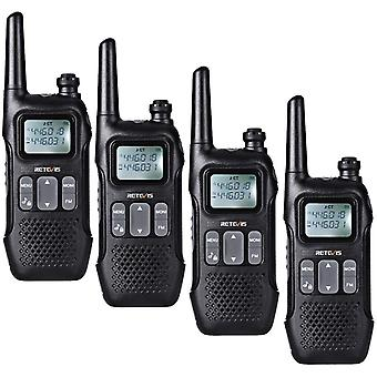 HanFei RT616 Funkgert, PMR446 Lizenzfrei 16 Kanle, 10 Ruftne, Dual Watch, FM Radio, Funkgert Set, VOX