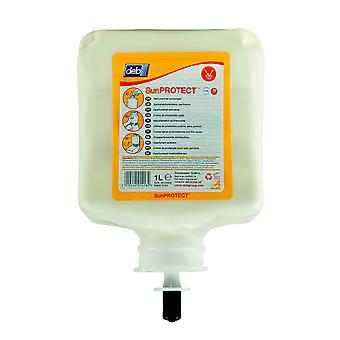 Deb Sun1L Stokoderm 1 Litre Sun Protect 30 Pure