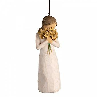 Willow Tree Warm Embrace Hanging Ornament