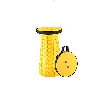 Camping opvouwbare kruk, verdikte en verbeterde telescopische kruk, draagbare intrekbare stevige plastic step kruk voor reizen wandelen BBQ Picknick
