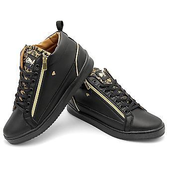 Sneaker - Majestät Svart - Zwart