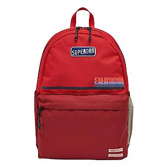 Superdry Cali Montana Backpack - Apple Red