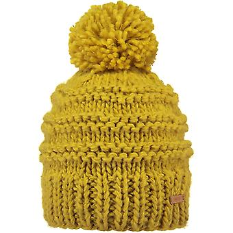 Barts Jasmin Bobble Hat in Yellow