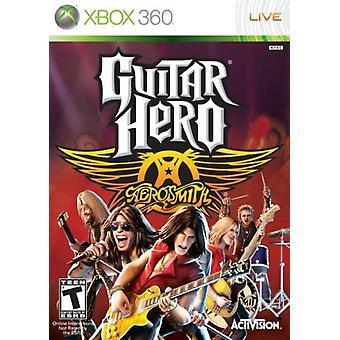 Guitar Hero Aerosmith Solus Xbox 360 Game (#)