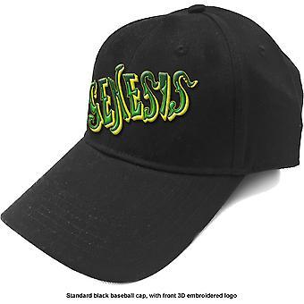 Genesis - Grønn Klassisk Logo Herre Baseball Cap - Svart