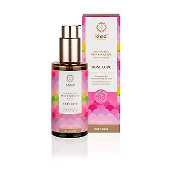 Ayurveda elixir rose-regenerating oil 100 ml of oil