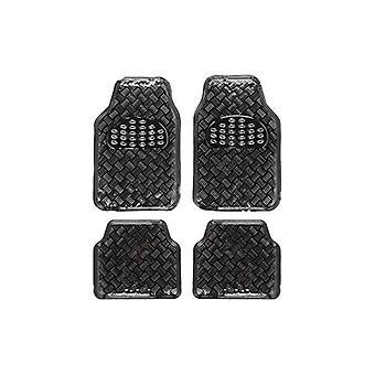 Car Floor Mat Set ALF10131 Universal Black (4 pcs)