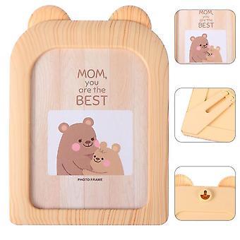 7Inch photo frame lovely kids picture frame creative little bear photo holder