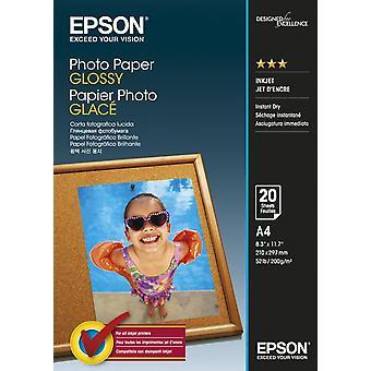 Photo Paper Glossy A4 20 sheet