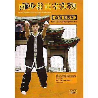Flying White Crane Puño Kung Fu Dvd -Vd7154A
