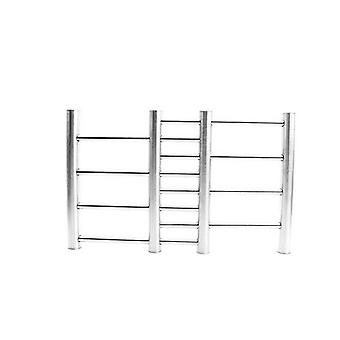2Pcs Adjustable Stainless Steel Kitchen Insulation Pads Ladder Trivet Worktop Saver Pot Pan Stand