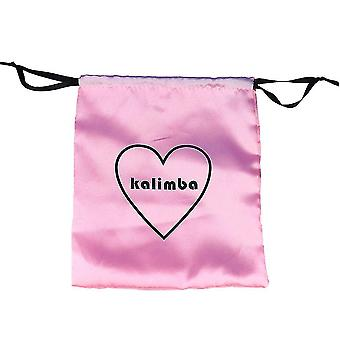 17 Touches Kalimba Thumb Piano Bag Love Heart Soft Peluche Sac Rose