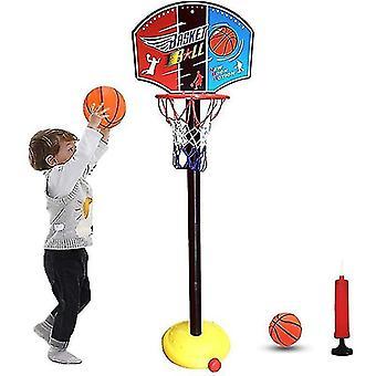 Mand bal hoepel achtergrond rack educatieve kinderen kinderen speelgoed speelgoed ballen buiten indoor plezier sporten