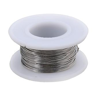 Water heater elements 20m 2080 nichrome wire 0.4mm dia heating wire resistance wires silver