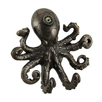 Antiek bronzen Finish Steampunk Octopus muur haak