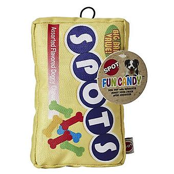 Spot Fun Candy Spot s Plush Dog Toy - 1 count