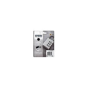 Toner inkjet cartridges singlepack black 35 padlock c13t35814010