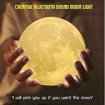 3D印刷月明かりBluetoothスピーカーフォトナイトライトのための男の子と女の子の友人の誕生日
