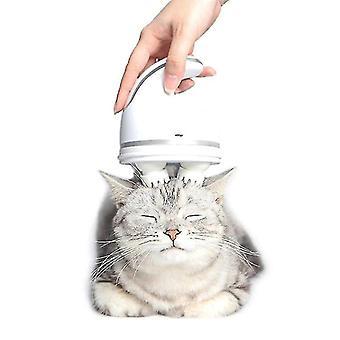 Elektromos macska toy kisállat fej masszázs macska kézi masszázs kefe automatikus ápolási eszközök