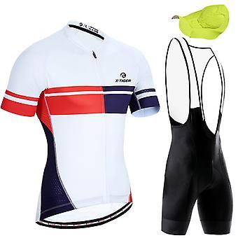 X-tiger mountainbike hurtigtørrende åndbar tredelt jakkesæt til mænd