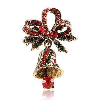 Bell Broches Pin Creatieve Vakantie Kleding Broche Gesp Corsage