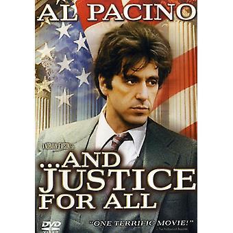 Och rättvisa för alla [DVD] USA import