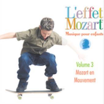 L'Effet Mozart Musique Pour Enfants - L'Effet Mozart: Musique Pour Enfants, Vol. 3 [CD] USA import