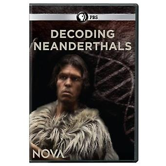 Nova - Decoding Neanderthals [DVD] USA import