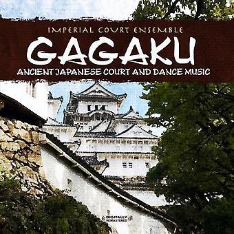 Imperial Court Ensemble - Gagaku: Alte japanische Gericht & Tanzmusik [CD] USA import