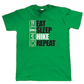 Mangez Sleep Hike Repeat T Shirt - Rambling Fell Walking Walking Gift for Him Dad