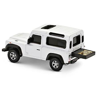 Official Land Rover Defender USB Memory Stick 16Gb - White