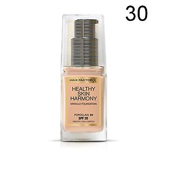 3 x Max Factor Healthy Skin Harmony Miracle Foundation - Various Shades