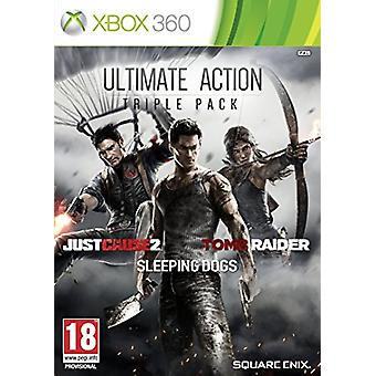 Ultimate Action Triple Pack (Xbox 360) - Uusi