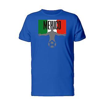 Football Soccer Player Mexico Men's T-shirt