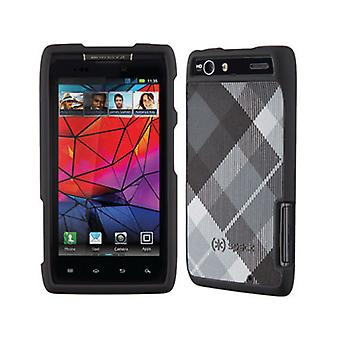 Speck Fitted Hard Shell Case for Motorola XT912 / Droid Razr (Megaplaid Black)