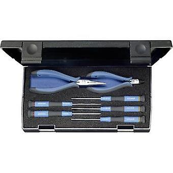 Gedore 6601830 elektrische aannemers Tool Kit case 7-delig
