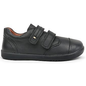 Bobux Kid+ Boys Port School Shoes Black