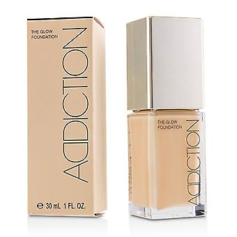 Addiction The Glow Foundation Spf 20 - # 007 (honey Beige) - 30ml/1oz